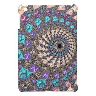 Fractal Spiral iPad Mini Cases