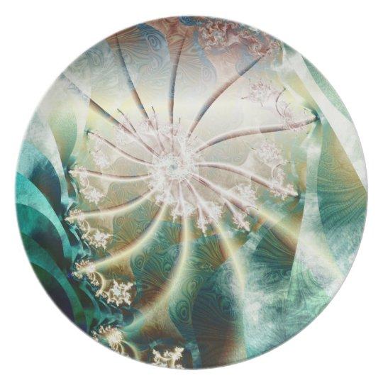 fractal spiral plate