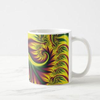 Fractal Spring Coffee Mugs