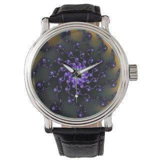 Fractal Starburst Wrist Watch