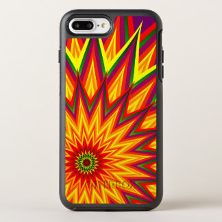 Fractal Sunflower Abstract Floral OtterBox Symmetry iPhone 8 Plus/7 Plus Case