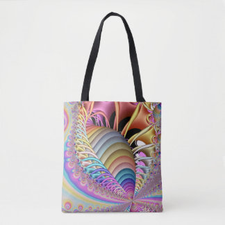 Fractal The Shell Tote Bag