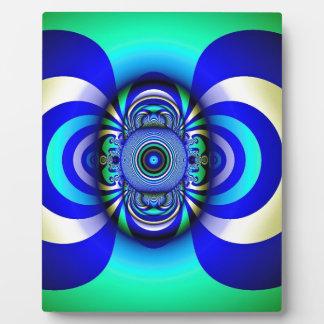 Fractal Third Eye Fantasy Digital Plaque