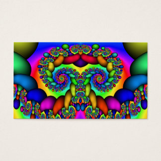 Fractal Tree of Life Business Card