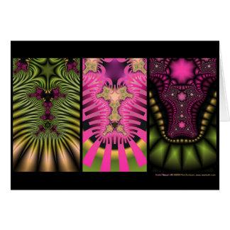 Fractal Triptych #2 Card
