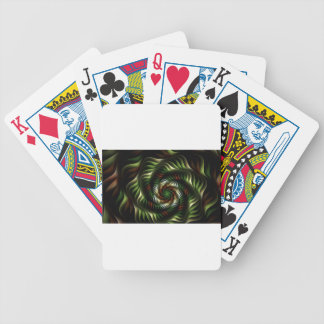 Fractal vortex bicycle playing cards