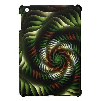 Fractal vortex iPad mini cover