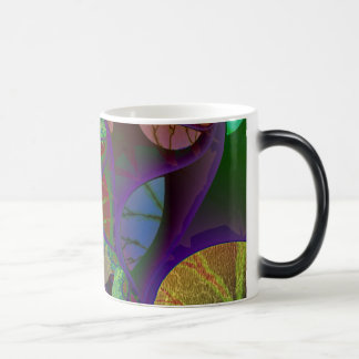 Fractal Watermelon #2 Magic Mug