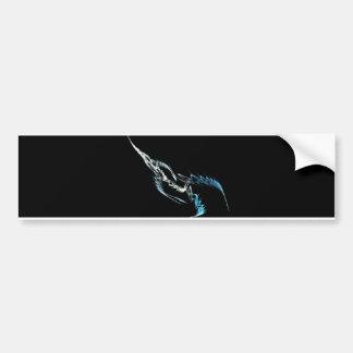 Fractal Weapon Bumper Sticker