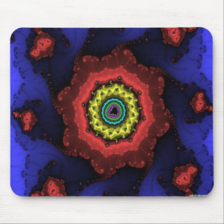 fractal wheel mouse pad