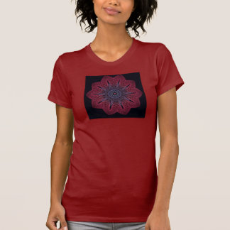 Fractal (Winter Blossom XZK) Women's T-Shirt