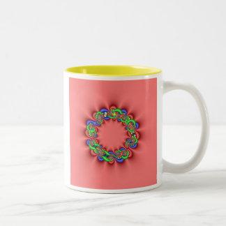 Fractal Wreath Mugs