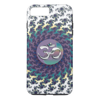 Fractal Yin-Yang Silver OM iPhone 7 Plus Case