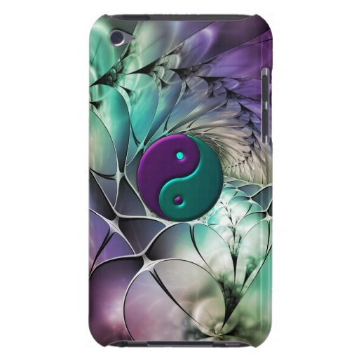 Fractal Yin-Yang Vibration Balance for iPod Touch Barely There iPod Cases