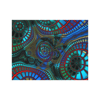 "Fractaling Abstract ""wave"" Canvas Print"