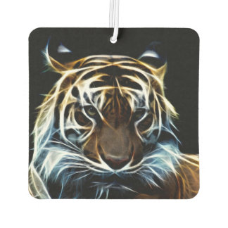 Fractalius tiger car air freshener