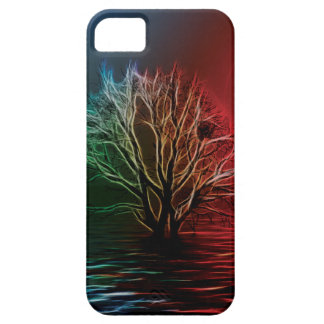 Fractalius Tree, Sky and River iPhone 5 Covers