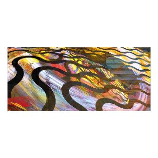 Fractals - Snake Custom Rack Cards