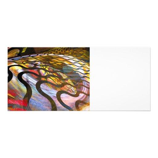 Fractals - Snake Full Color Rack Card