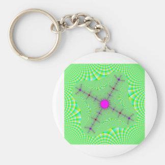 fracting28 basic round button key ring