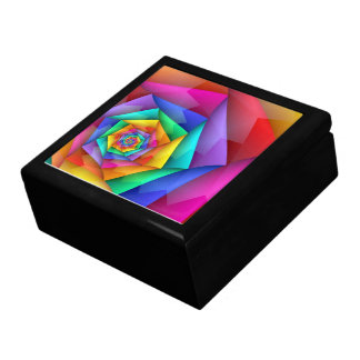 Fractured Rainbow Gay Pride LGBT Gift Box