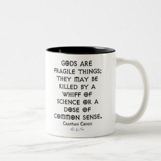 Fragile Gods Two-Tone Mug