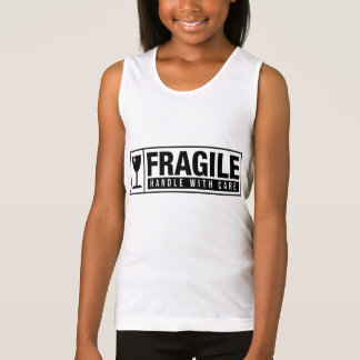 Fragile Handle With Care Singlet