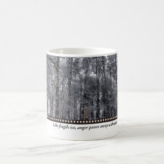 Fragile Ice Basic White Mug