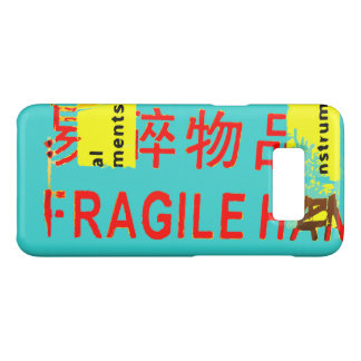 FRAGILE Markings - COOL Asian Characters Case-Mate Samsung Galaxy S8 Case