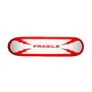Fragile Symbol Skateboard Mini