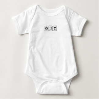 Fragile, This End Up, Handle With Care Baby Bodysuit