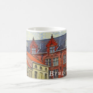 Fragment of the architecture of St. John in Bruges Coffee Mug