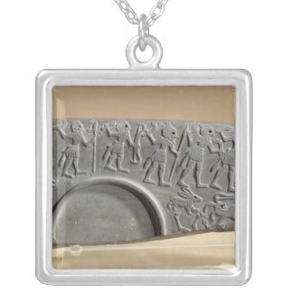 Fragment of the Hunters Palette Silver Plated Necklace