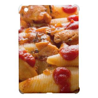 Fragment portion conchiglioni pasta and turkey cover for the iPad mini