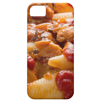 Fragment portion conchiglioni pasta and turkey iPhone 5 cases