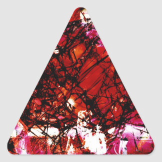 Fragmentalize - Red Monochrome Stickers