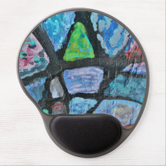 Fragmented Color Shapes mousepad Gel Mouse Pad