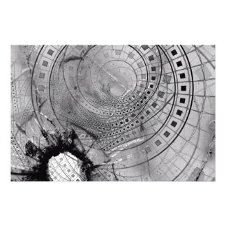 Fragmented Fractal Memories and Shattered Glass Photo Print