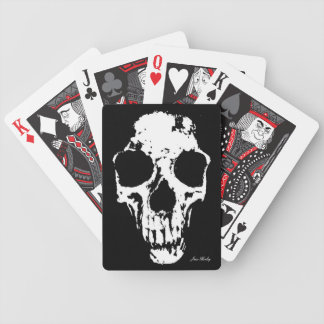 Fragmented Skull Bicycle Poker Cards