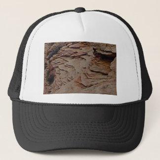 fragments chips in rock trucker hat