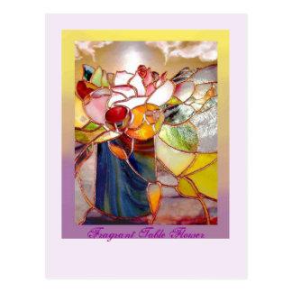 Fragrant Flower ANNIVERSARY CARDS Postcard