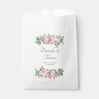 Fragrant Garden Elegant Wedding Favor Bags