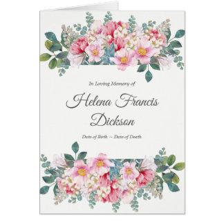 Fragrant Garden Sympathy Thank You Card