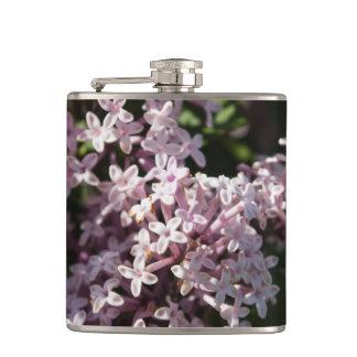 Fragrant Lilac Hip Flask