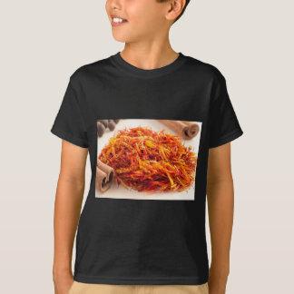 Fragrant saffron close-up T-Shirt