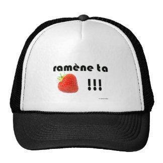 fraise casquettes de camionneur