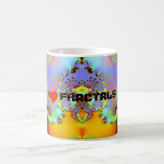 Fraktal009 - I LOVE FRACTALS Coffee Mug