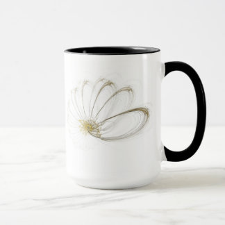Fraktal kind coffee cup
