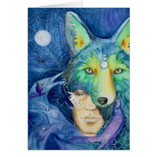 Framable Card: Coyote Son Card