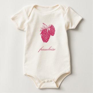 Framboise (Raspberry Baby Bodysuit
